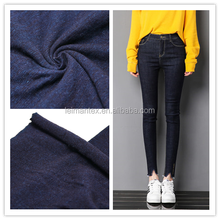 China wholesale market agent cotton knitted jeans denim fabric