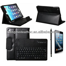 Removable Bluetooth Keyboard with Leather Case Cover For Apple iPad 4/3/2,Protective Stand Case For Ipad 4/3/2