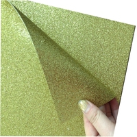 over 10 years experience double sided glitter paper gold glitter paper