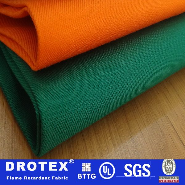 High air permeability FR cotton fabric for workwear