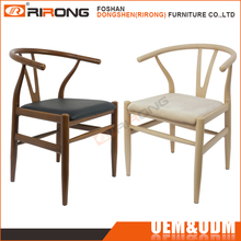 Industrial vintage rural style wood design cafe restaurant dining chair