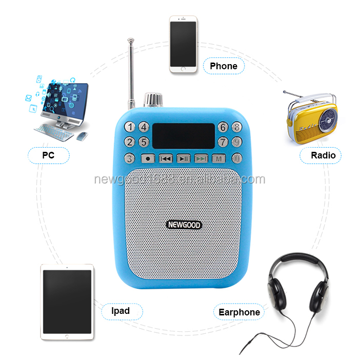Portable usb flash player and Wireless, usb music player Mini USB Megaphone