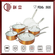 aluminum porcelain enamel cookware high quality
