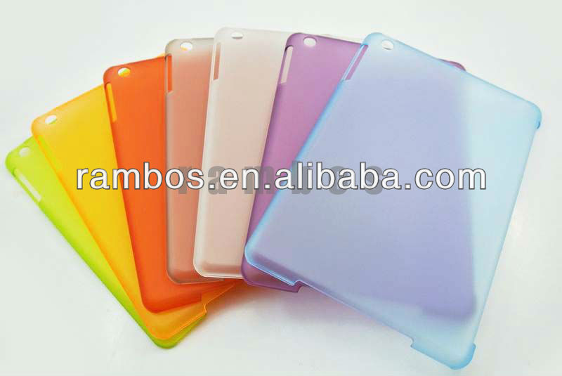 Multi Color PC Hard Plastic Cover Case for Apple iPad Mini Tablet Accessories