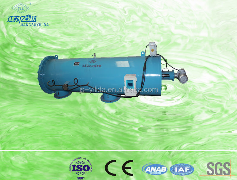 PLC control Electric Sewage Suction automatic Self-cleaning Industrial Water Filter