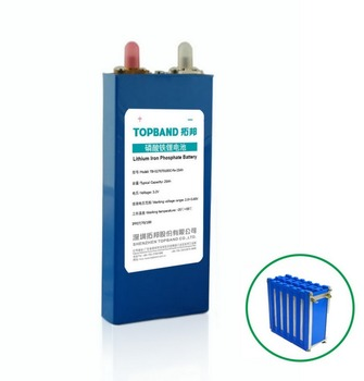 TOPBAND High quality 3.2V 100Ah prismtic LiFePO4 battery cell