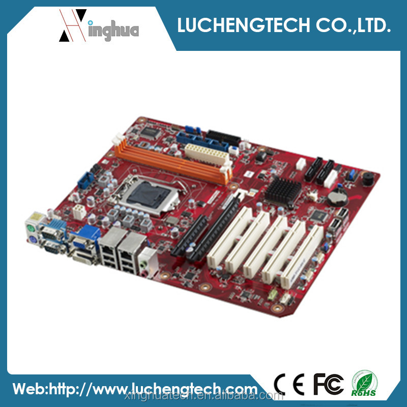 Advantech industrial mini pc motherboard LGA1155 Intel Core i7/i5/i3/Pentium ATX with DVI/VGA, Dual GbE LAN