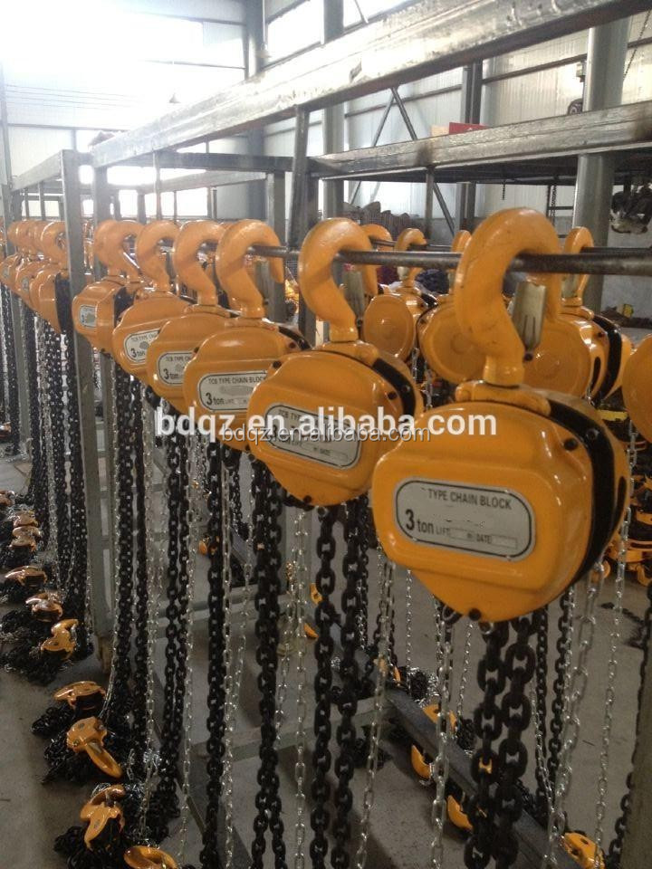 HS-C chain block / hoist /Hand Chain Pulley Block OF lifting equipments