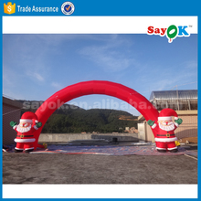 christmas light used advertising inflatable santa arch price