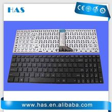 Hot selling Laptop keyboard for ASUS X551CA Spanish Black without frame column