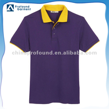 Men high quality polo t shirt blank cotton pique men genteel polo shirt