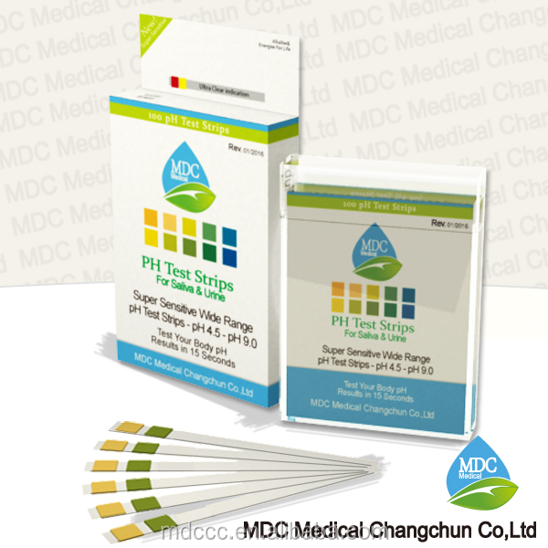 Urine pH Strip,pH test strip universal pH indicator