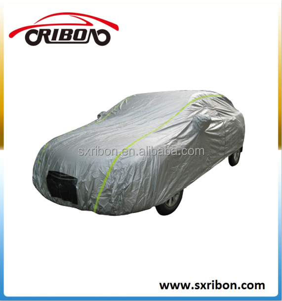 170T polyester taffeta silver coated car cover waterproof