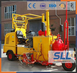 SINCOLA Thermoplastic paint boiler combined road line marking paint machine for sale