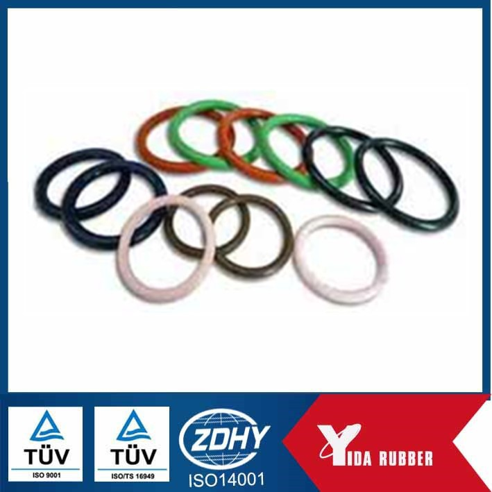 China molded colored rubber,silicone ,NBR seal o ring / rubber circle
