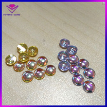 Factory supply colorful bulk CZ beads for plastic robot model