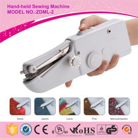Mini toy sewing machine ZDML-2 hand-held sewing machine