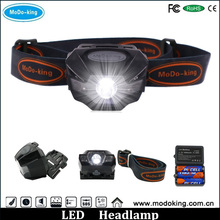 High Quality Waterproof Head Lantern LED Mining Headlamp with Longlife burn time rechargeable