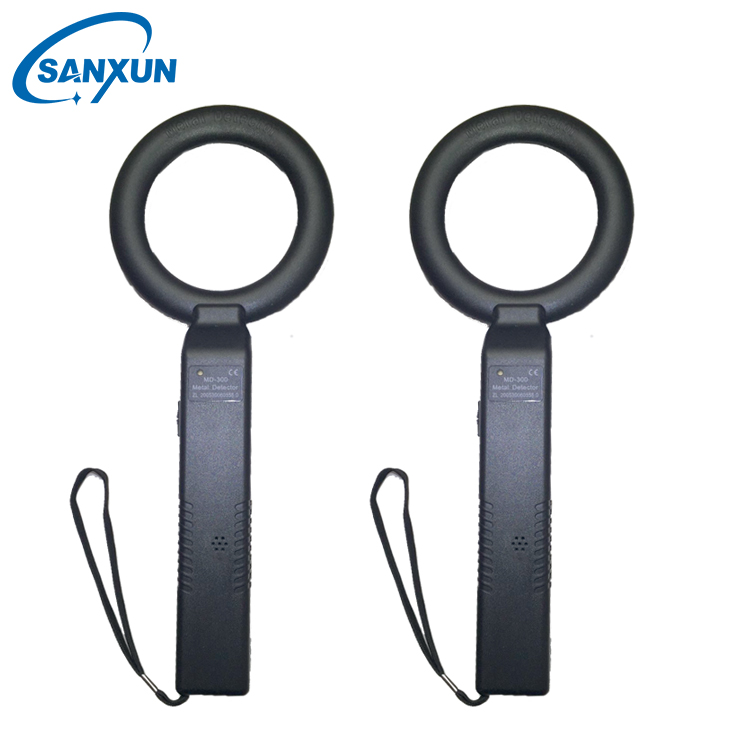 Portable pinpoint hand held metal detector