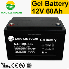 hot sale lead acid gel 12v 60ah electric car battery pack