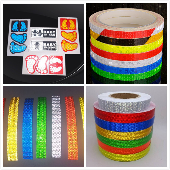 high visibility glass+reflective+sheet / orange reflective acrylic sheets tape for traffic