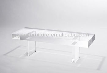 Clear Transparent Leisure Long Chair