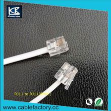 Professional High quality home telephone cable rj11 telephone handset wholesale price