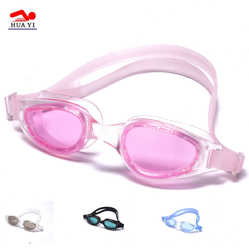 Professional top sale logo custom adjustable swim goggles