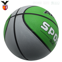 Best Selling Promotional Colorful Ball Rubber Basketball
