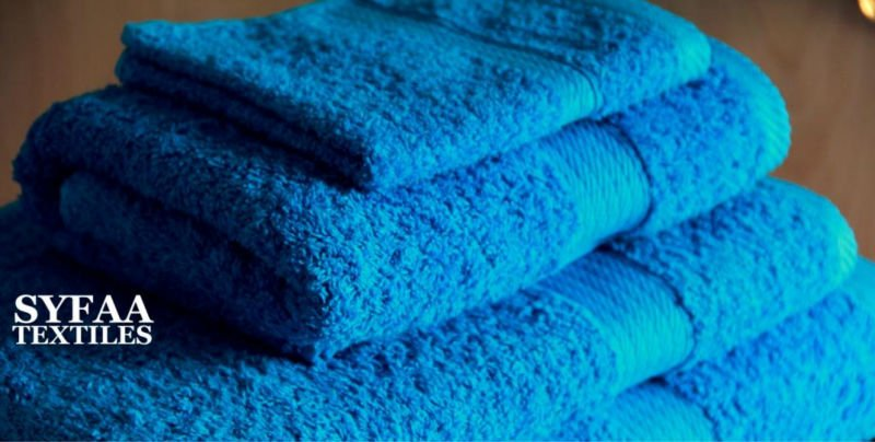 21/S Good quality terry royal blue towel