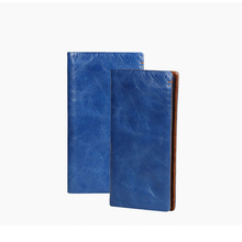 fashionable european style imperial human leather travel wallet