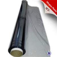 Transparent/blue/white color pvc packing film for mattress