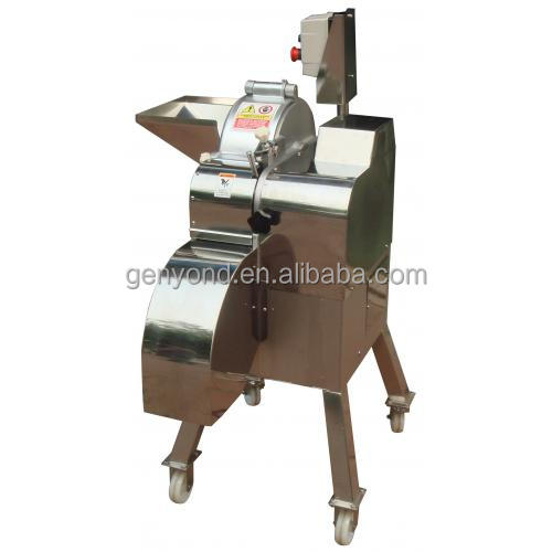 Commercial fruit and vegetable cutting machine