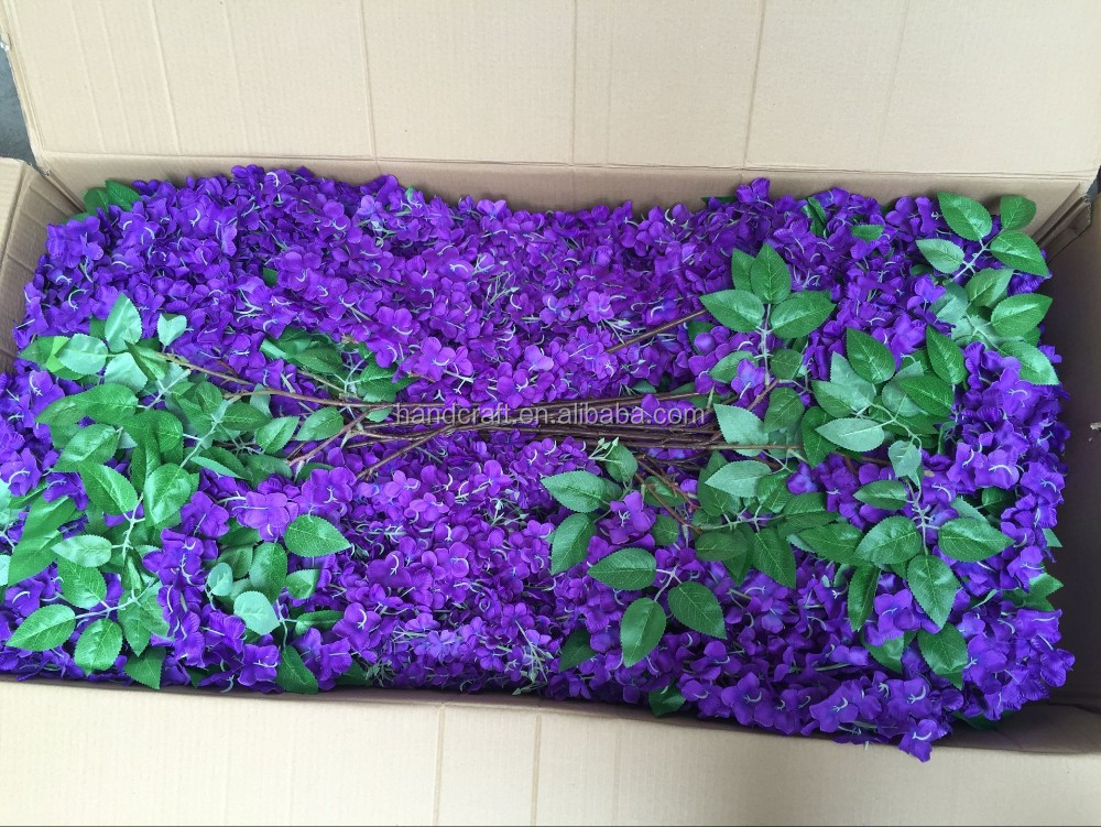 hydrangea Artificial wisteria, Artificial Wedding Wisteria,Single Stem Cheap Wisteria