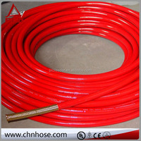 Nylon Fabric Braided Reinforced Hydraulic Ribbed Flexible Rubber Hose