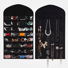 Hanging 32 Pocket Jewelry Organizer,Non-woven Fabric Jewellery Storage Bag Organiser