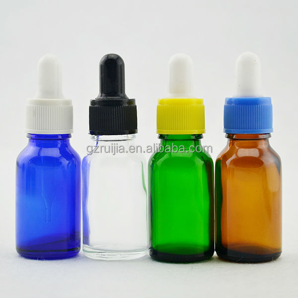 travel containers for cosmetics 15ml glass bottle