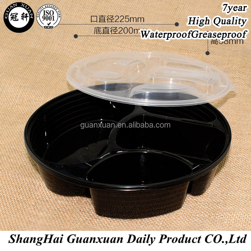 Fast Food Use Plastic Disposable Take Away Food Container/meal Box