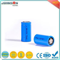 18350 li-ion battery 3.7v 750mah