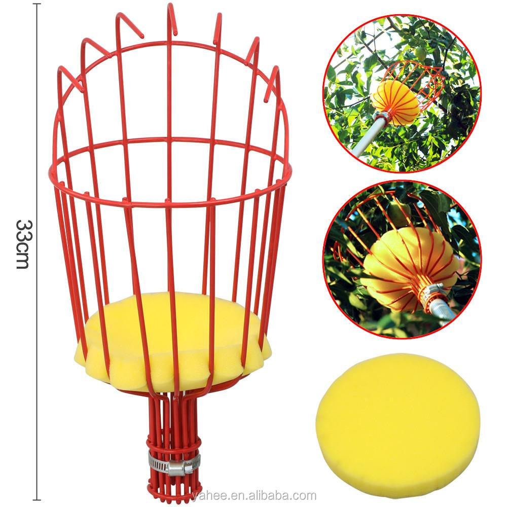 Fruit Picker Basket Fresh Orange Apple Plum Pear Peach for Broom Pole Stick-400785