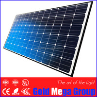 IP67 rated 20 year warranty monocrystalline silicon solar panel 30w 60w 120w 140 with ISO9001/14001 certification