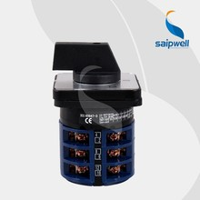 Saip Saipwell Hot Sale 63A 3 phase changeover switch LW26 Series