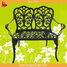 USA hot selling hot selling metal garden white bench