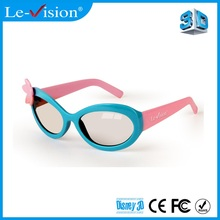 Hot sale 3D Kids Glasses Circular Polarized Plastic Passive 3D Kids Glasses For Barco Cinema System