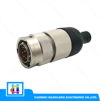 straight welding amphenol connector
