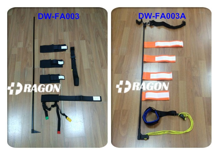 DW-FA003 CE Approved Aluminum Rescue Leg Traction Splint For Adults