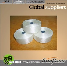 Business Industrial Twill Weave Glass Fiber Tape Fireproofing Fiberglass Tape