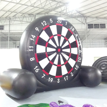 outdoor inflatable soccer dart board/inflatable dart game/inflatable soccer darts