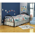 Fashion frame twin children size single metal bed