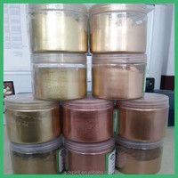 metallic effect pigment gold powder for paint
